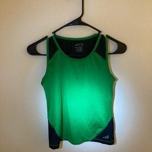 🏃‍♀️Green and Black Work-out top small🏃‍♀️